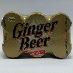 Boisson au gingembre sans alcool GINGER ROOT, 6x33cl