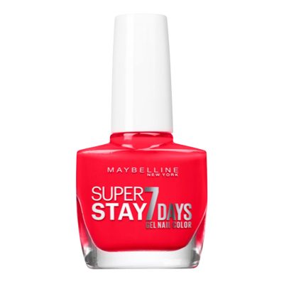 Vernis a ongles tenue & strong citrus charge 917 cherry nu MAYBELLINE