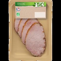 Rôti de porc cuit tradition, BIO, 4 tranches, 120g