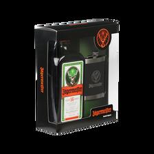 Jagermeister Liqueur De Plantes , 35°, Bouteille De 70cl+flasque