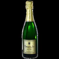 Crémant du Jura blanc brut FRUITIERE VINICOLE DE VOITEUR, bouteille de 0.75l