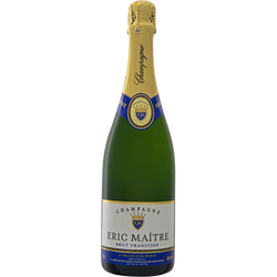 Champagne brut Tradition eric maitre, 75cl
