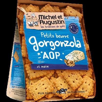 Petits beurres apéritif roquefort et graines de pavot bleu MICHEL AUGUSTIN, 100g