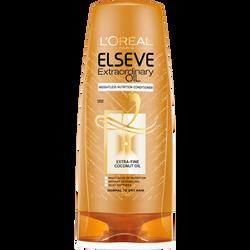 Après-shampooing huile extraordinaire huile fine de coco, cheveux normaux à secs ELSEVE, flacon 200ml