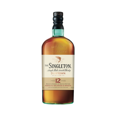 Scotch whisky single malt, 12 ans d'âge, THE SINGLETON, 40°, 70cl