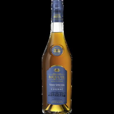 Cognac Grand breuil, 40°, bouteille de 70cl