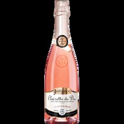 Clairette de Die rosé AOP tradition JAILLANCE, 75cl