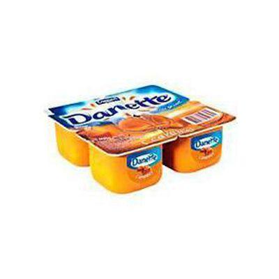 Crème dessert au caramel DANETTE, 4x100g