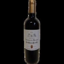 Vin rouge AOP St-Emilion grand cru Château Jacques Blanc ,2014, 75cl