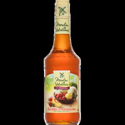 Sirop de fraise pastèque cédrat et melon Recette Provencale MOULIN DEVALDONNE, bouteille en verre de 70cl