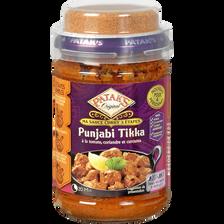 Sauce curry 3 étapes tikka PATAK'S, bocal de 277g