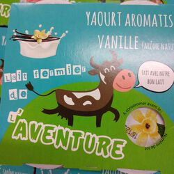 *YAOURT VANILLE 4X125G OMBREE D'ANJOU