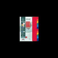 Intercalaire FORCE 8, 7 trous, 21x29,7cm, 12 unités, coloris assortis