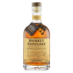 Scotch whisky blended malt Monkey Shoulder 40° 70cl