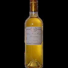 Vin blanc Sauternes AOC Château Haut-Monteils, bouteille de 75cl