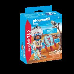 Playmobil Spécial Plus - Chef de tribu autochtone - 70062 - Dès 4 ans