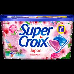 Lessive Japon SUPER CROIX,  x28 soit 560g
