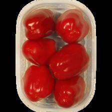 Mini poivron rouge, catégorie 1, Espagne, barquette 125g