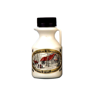 Sirop d'érable pur, cruchon de 250 ml