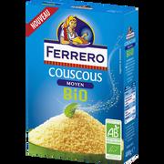 Ferrero Graines De Couscous Moyen Bio Ferrero, Bôite De 400g