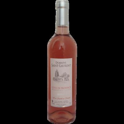 Vin rosé Côtes de Provence AOP, Domaine Saint-Laurent, bouteillede 75cl