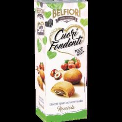 Biscuits fourrés à la noisette BELFIORI, 200g