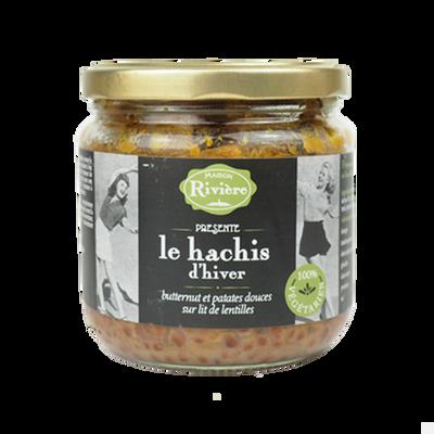 Hachis d'hiver butternut/patates douces/lentilles M.RIVIERE, bocal de380g