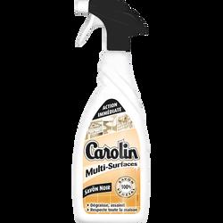 Nettoyant multi-surfaces au savon noir CAROLIN, pistolet de 650ml