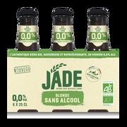 Jade Bière Blonde Jade, 0,0° 6x25cl