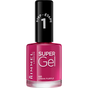 Rimmel Vernis À Ongle Super Gel Urban Purple 025 Rimmel, 12ml