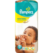 Pampers Couches Prémium Protection Pampers, 6-10kg Taille 3x50