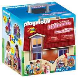 Playmobil La maison traditionnelle - Maison transportable - 5167 - Dès4 ans