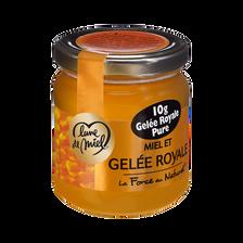 Lune de Miel Miel À La Gelée Royale , Pot En Verre De 250g
