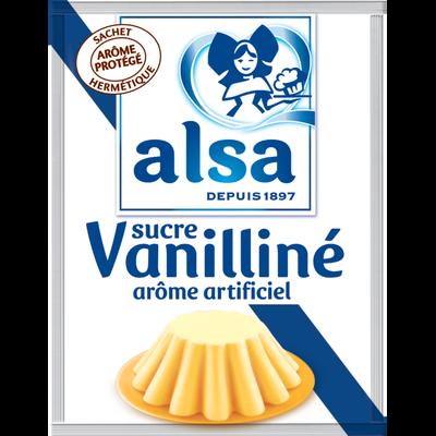 Sucre vanilliné ALSA, 12 sachets, 90g