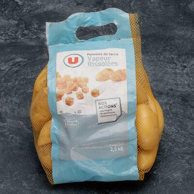 Pomme de terre Anoe, de consommation à chair ferme, U, calibre 35/52mm, cat.1, France, girsac 2,5kg