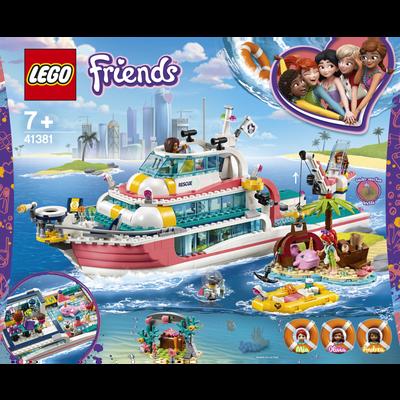 LE BATEAU DE SAUVETAGE LEGO