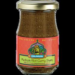 Pâte au curry relevé moyen RAAJMAHAL, 200g