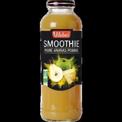 Smoothie poire  ananas pomme VITABIO, 50cl