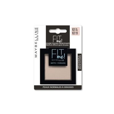 Poudre fit me 102 blister MAYBELLINE