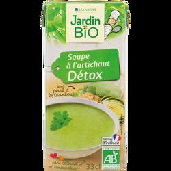 Soupe à l'artichaut Detox bio JARDIN BIOLOGIQUE 33cl