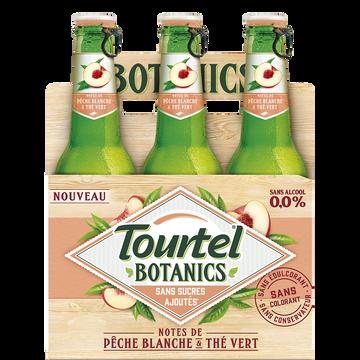 Tourtel Twist Bière Sans Alcool Botanics Pêche Blanche Et Thé Vert Tourtel 0°, 6x27,5cl
