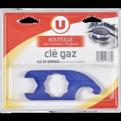 Clé de serrage pour bouteilles de gaz U, butane et propane