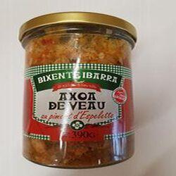 Axoa de veau au piment d'espelette, BIXENTE IBARRA, 390g