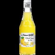 Monin Sirop De Citron Jaune De Sicile La Maison Guiot, Bouteille En Verre De70cl