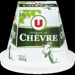 Fromage Pyramide de chèvre frais au lait pasteurisé U, 12% de MG, 150g
