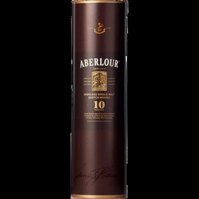 Scotch whisky single malt ABERLOUR, 10 ans d'âge, 40°, 70cl sous étui