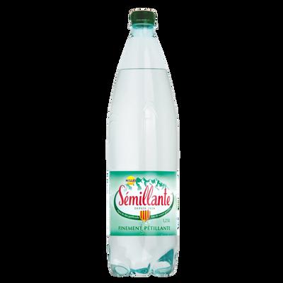 Eau gazeuse SEMILLANTE, bouteille de 1.25l