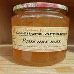 Confiture de poire aux noix, Recette du Jura, 430g