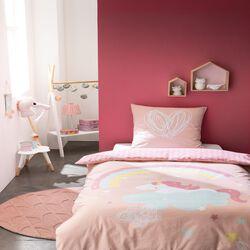 """PARURE ENFANT HOUSSE DE COUETTE 140X200CM + 1 TAIE D'OREILLER 65X65CM (QUALITE """"52 FILS"""" FINITION BOUTON)"""