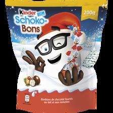 Kinder Schokobons Chocolat Au Lait Et Noisettes , 200g